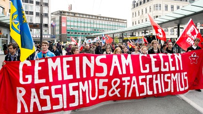 Demonstration in Solingen gegen Rassismus