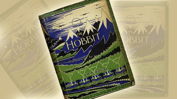 Montage: Buchcover The Hobbit