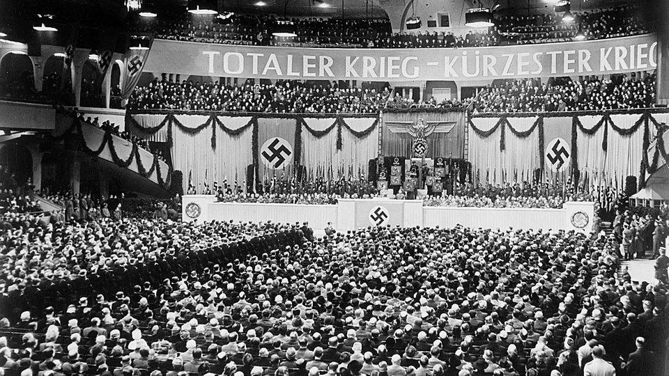 Sportpalastrede Goebbels