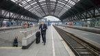 Bahnsteig am Kölner Hbf