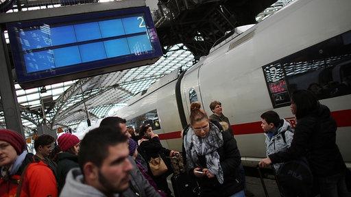 Sturm - Köln am Hauptbahnhof