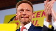 Christian Lindner am Wahlabend