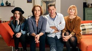 Die ganze Familie: Hannah, Billy, Gunnar und Christel