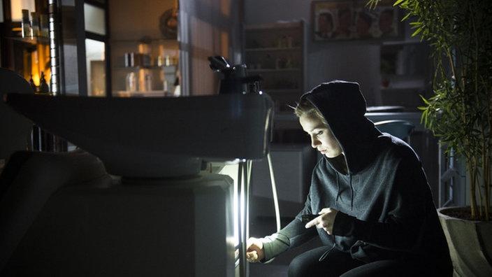 Folge 1537  Lindenstraße  ARD  Das Erste -> Waschmaschine Nachts