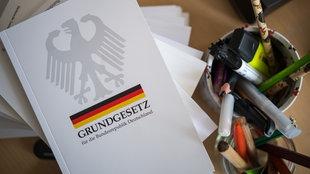 Eine Ausgabe des Grundgesetzes der Bundesrepublik Deutschland