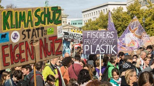 Klimademonstration in Berlin