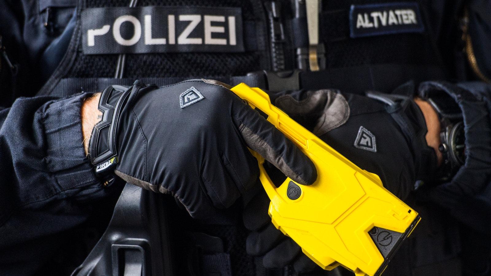 Polizei Taser