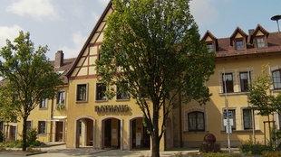 Das Rathaus der Gemeinde Schwarzenbruck in Bayern