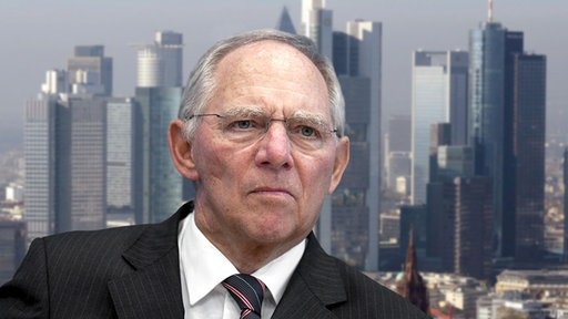 Wolfgang Schäuble im Inteview