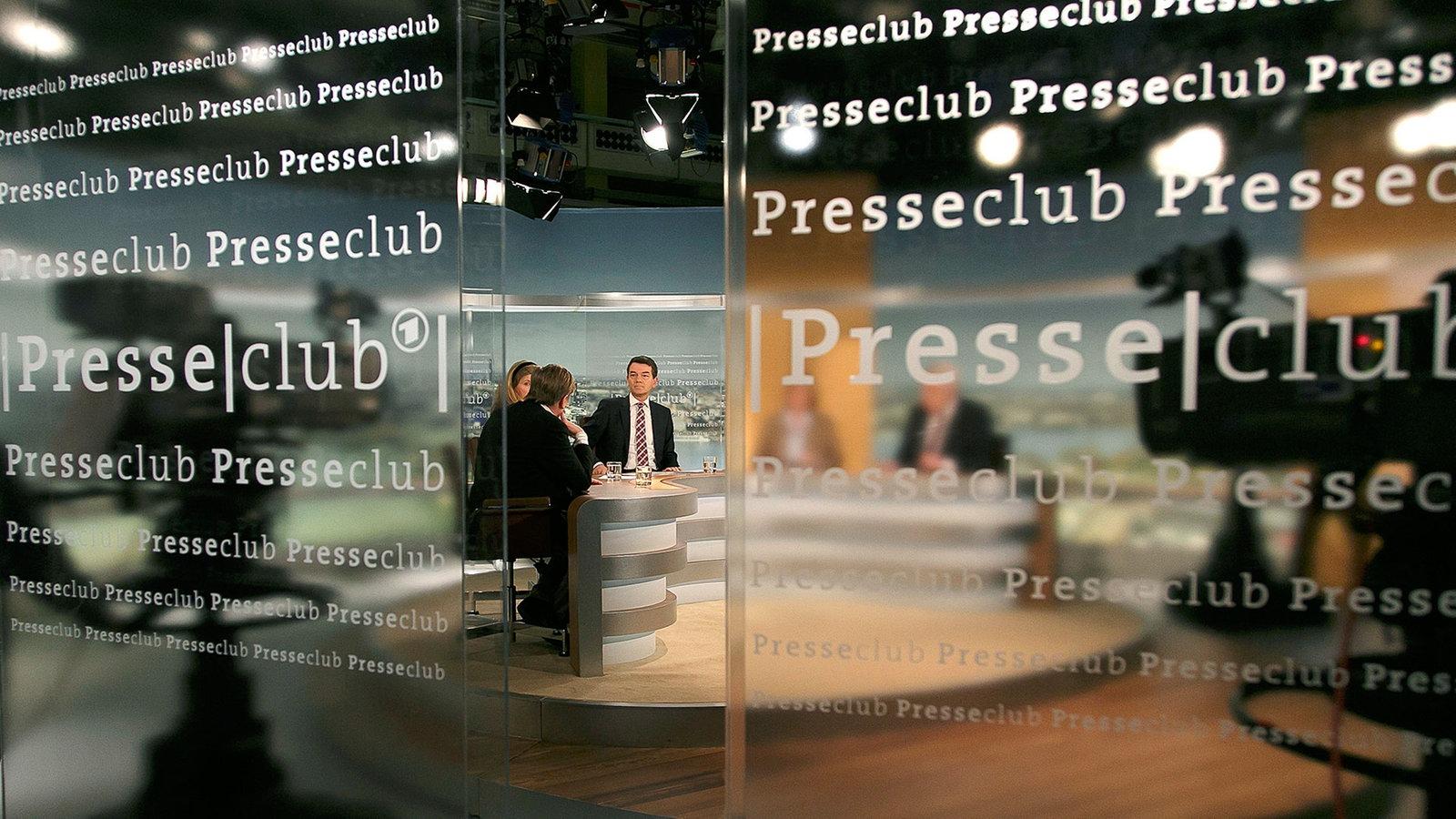 Ard Presseclub Live