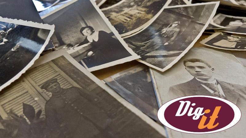 Bilderstapel mit Logo 'Digit'