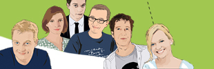 Illustration: Autoren von Digitalistan