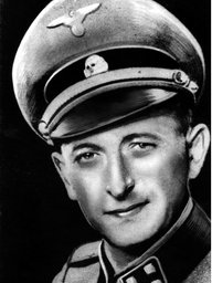Adolf Eichmann in SS-Uniform