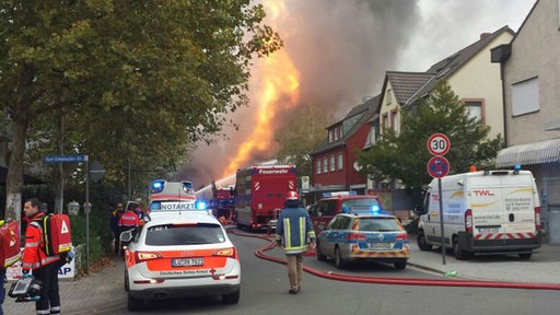 Gasexplosion Ludwigshafen
