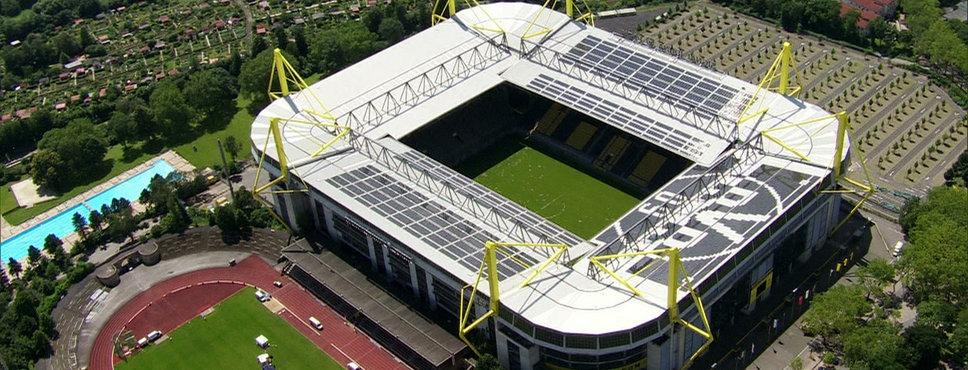 Das Dortmunder Westfalenstadion