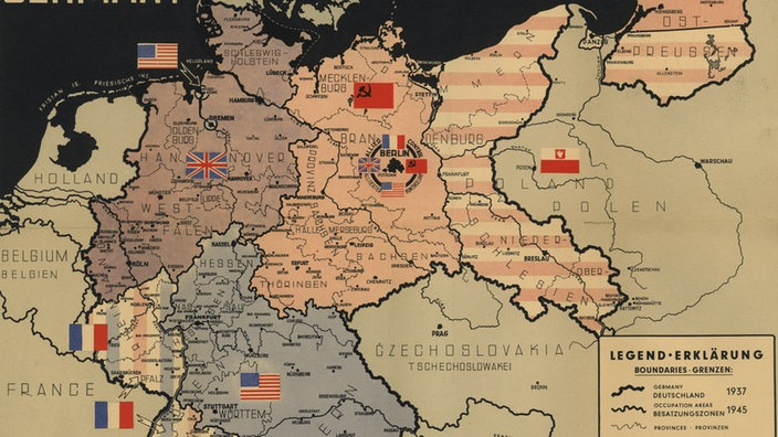 2 Weltkrieg Karte.Deutsche Geschichte Nachkriegszeit Deutsche Geschichte