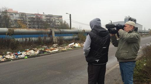 Einbrecher und Kameramann