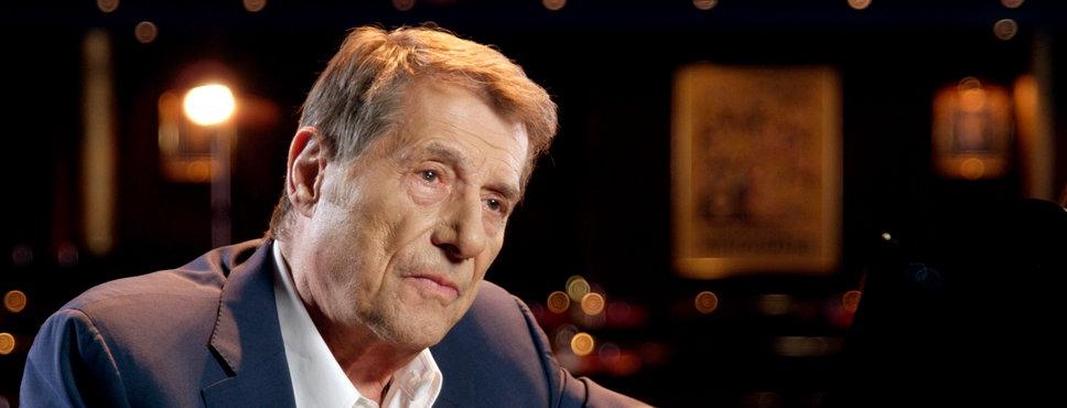 Udo Jürgens während des Interview.