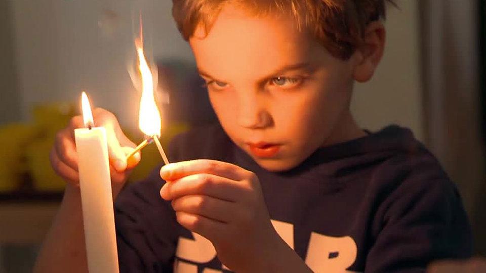 Feuer Kinder