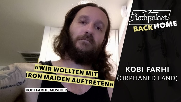 Rockpalast BACK HOME: Kobi Farhi (Orphaned Land)
