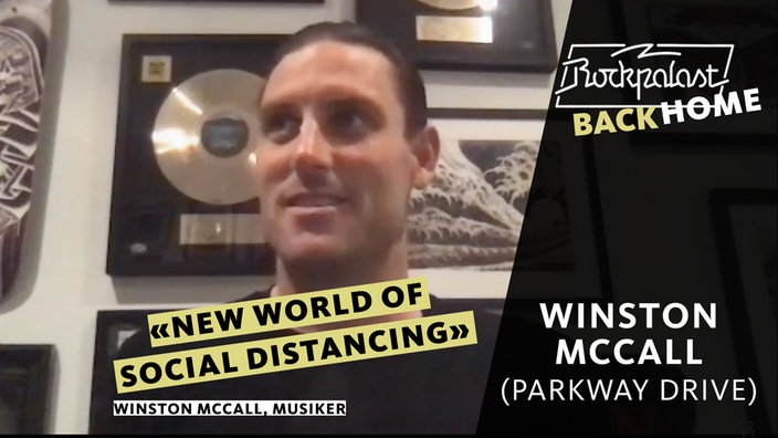 Rockpalast BACK HOME: Winston McCall (Parkway Drive)