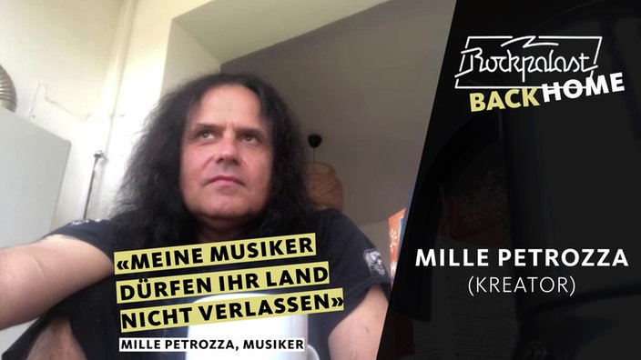 Rockpalast BACK HOME: Mille Petrozza (Kreator)