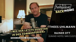 Rockpalast BACK HOME: Thees Uhlmann / Rainer Ott (Grand Hotel Van Cleef)