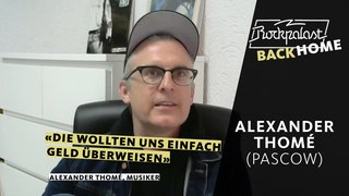 Rockpalast BACK HOME: Alexander Thomé (Pascow)