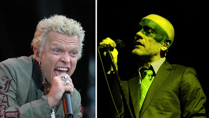 Billy Idol / R.E.M beim Rock am Ring 2005