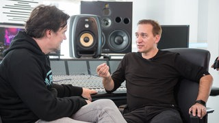 Paul van Dyk  beim Rockpalast Backstage Dreh in Berlin am 13.09.2017