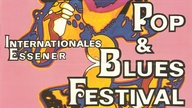 Logo 1. Internationales Essener Pop & Blues Festival 1969