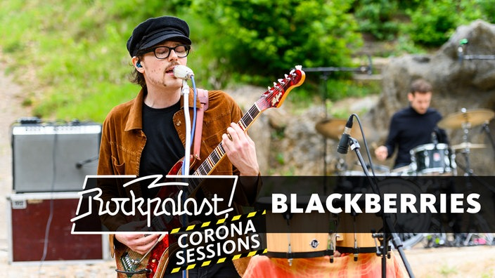 Blackberries: Corona Session bei den Karl-May-Festspielen in Elspe