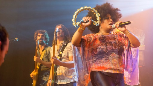 Lisa & The Lips beim Crossroads Festival 2014