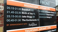 Playlist am Mittwoch auf dem Eurosonic 2013. Es spielten Bernhoft, Frankie Chavez, Birth of Joy, Death Hawks, Jake Bugg, Honig und The Excitements.