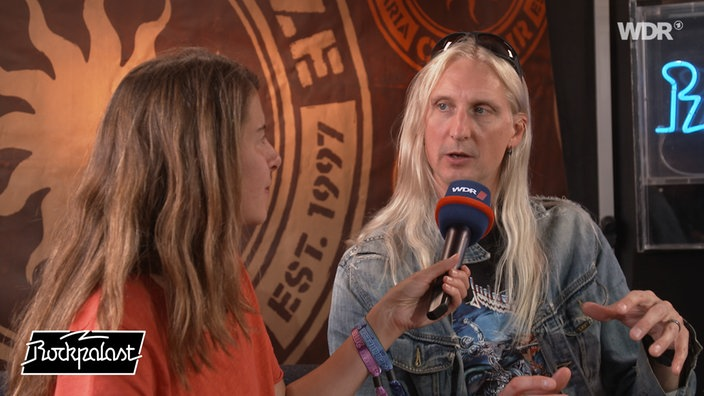 Interview Hammerfall beim Summer Breeze 2019