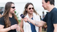 Airbourne im Interview beim Highfield Festival 2016