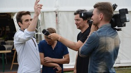 Royal Republic im Interview beim Highfield Festival 2016