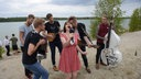 Skinny Lister unplugged beim Highfield Festival 2016