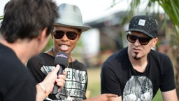 Skunk Anansie im Interview beim Highfield Festival 2016