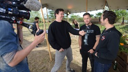 Thrice im Interview beim Highfield Festival 2016