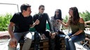 "Motionless In White im Interview mit Rockpalast-Reporter Ingo Schmoll und Reporterin Conny Schiffbauer am Rande des ""XXIV. With Full Force Festival 2017"" vom 22.06. - 24.06.2017 in Ferropolis, Gräfenhainichen."