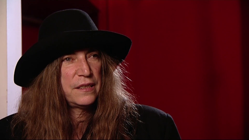 Patti Smith im Interview zu 40 Jahren Rockpalast