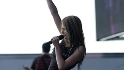 Avril Lavigne bei Rock am Ring 2004