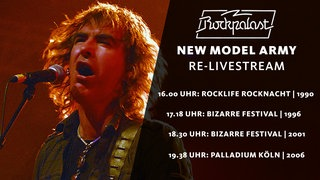 New Model Army Re-Livestream 1990 - 2006
