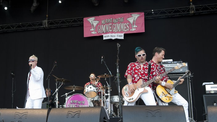 Bandfoto Me First & The Gimme Gimmes