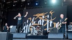 Die Band Sick Of It All auf der Bühne