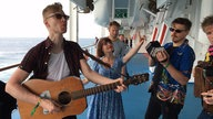 Salty Dog Cruise 2016: Skinny Lister unplugged