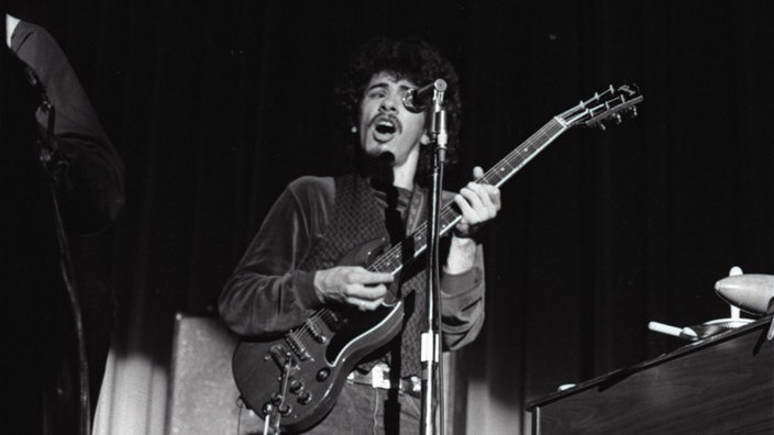 Santana beim Swing In - Konzert 1970