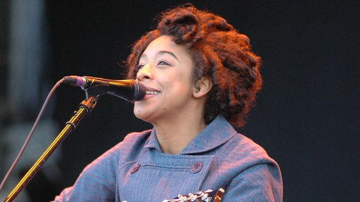 Corinne Bailey Rae bei Rock am Ring 2006