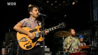 Local Natives live on stage